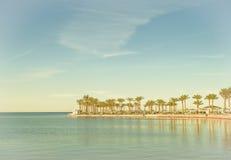 Holiday resort. At the sea Royalty Free Stock Image