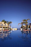 Holiday resort. With swimming pool Stock Image