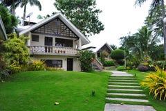 Holiday resort apartments on Bantayan Island Stock Photo