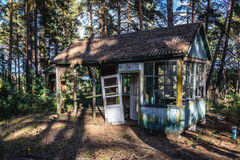 Holiday resort in Chernobyl Zone Stock Images