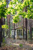 Holiday resort in Chernobyl Zone Royalty Free Stock Images