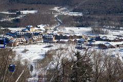 Holiday Resort. China Jilin holiday winter scenery royalty free stock photo
