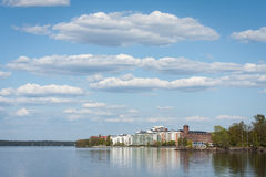 Holiday resort in Finland Royalty Free Stock Image