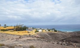 Holiday resort in Fuerteventura Royalty Free Stock Image