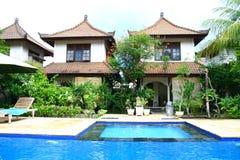 Holiday resort in Gili island Stock Photos