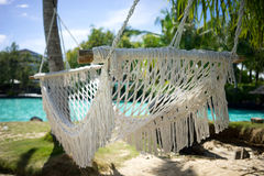 Holiday Resort Hammock Royalty Free Stock Image