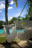 Holiday Resort Hammock royalty free stock photos