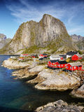 Holiday Resort, Hamnoy, Lofoten Stock Images