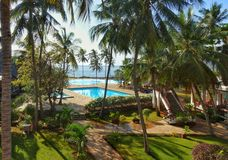 Holiday resort Kenya Stock Photos
