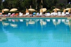Holiday resort pool Royalty Free Stock Photography
