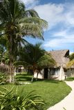 Holiday Resort in Tulum Beach - Mexico Royalty Free Stock Images