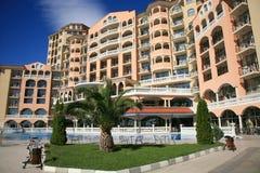 Holiday resort. Vacation resort on bulgarian coast Royalty Free Stock Images