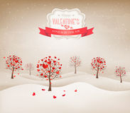 Holiday retro background. Royalty Free Stock Photo