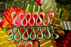 Holiday Ribbon Candy Royalty Free Stock Photo
