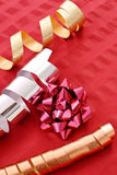Holiday Ribbons Royalty Free Stock Photography