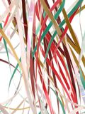 A holiday ribbons Royalty Free Stock Photo