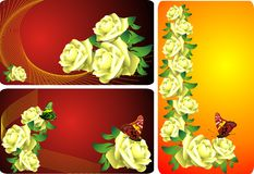 Holiday roses  Royalty Free Stock Photography