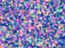 Holiday rounds bokeh backgrounds in Chaotic Arrangement Stock Images