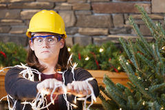 Holiday safety Stock Photo