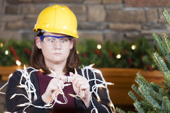 Holiday safety Royalty Free Stock Image