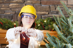 Holiday safety Stock Photography