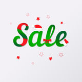 Holiday Sale Royalty Free Stock Photos