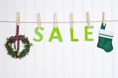 Holiday Sale Concept Stock Photos