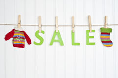 Holiday Sale Concept Royalty Free Stock Images