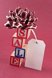 Holiday Sale Concept Royalty Free Stock Photography