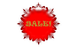 Holiday sale icon. Icon depicting special Christmas holiday sale Vector Illustration