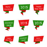 Holiday Sale vector elements Stock Image
