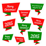 Holiday Sale vector elements Royalty Free Stock Images