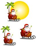 Holiday Santa Claus Travel Stock Photo