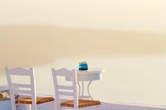 Holiday in Santorini Royalty Free Stock Photos