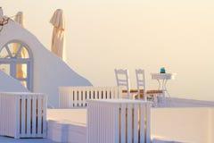 Holiday in Santorini Stock Photos