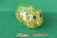 Holiday Savings Stock Photo