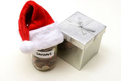 Holiday savings Stock Photos