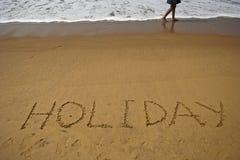 Holiday on sea beach Stock Photo