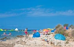 Holiday at the sea. Croatia Royalty Free Stock Photos