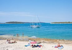 Holiday at the sea. Croatia Royalty Free Stock Images