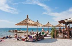 Holiday at the sea. Croatia Royalty Free Stock Image
