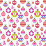 Holiday seamless background Stock Image