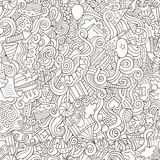 Holiday seamless pattern Royalty Free Stock Images