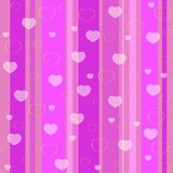 Holiday seamless pattern pink Stock Photo