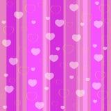 Holiday seamless pattern pink Stock Photo