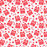 Holiday seamless pattern Royalty Free Stock Photo