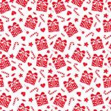 Holiday seamless pattern Royalty Free Stock Photo