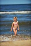 Holiday at seaside Royalty Free Stock Photo