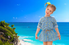 Holiday at the seaside Stock Photography