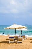 Holiday season in Beach. Royalty Free Stock Photos
